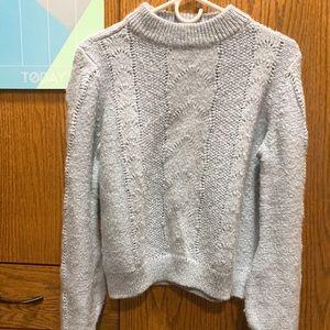 Pale blue sweater